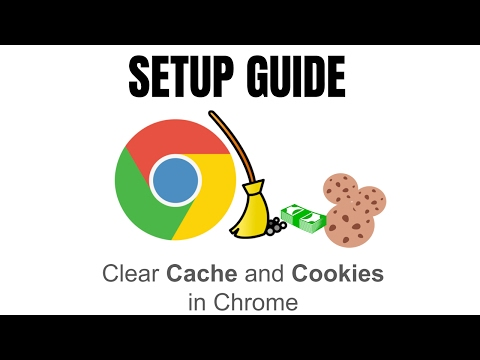 Clear Cache and Cookies in Chrome