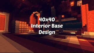 40x40 Factions Base Tour Minecraft Faction Interior Design Ep 6 With Download