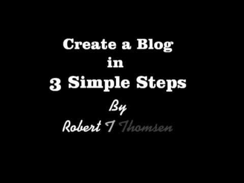 Discover The 3 Simple Steps To Creating Your Own Blog For Free