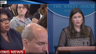 REPORTER SAYS TRUMP ATTACKED NFL PLAYERS, SO SARAH SANDERS SHUT HER UP WITH FOUR BADASS WORDS