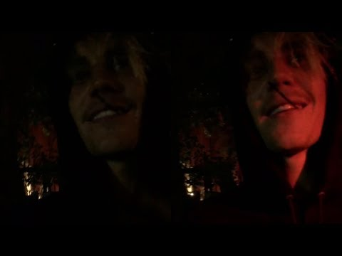 Justin Bieber asking fans : Do I have wine on my lips? - leaving LIV Miami Night Club June 10 2018