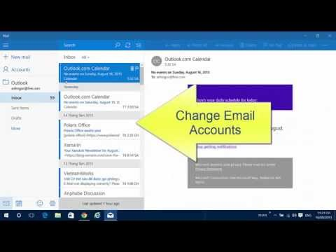 How to configure Email Account in Windows 10 Mail