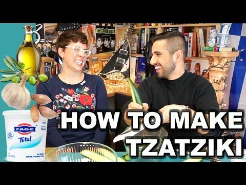 Tzatziki Sauce Recipe | The Greek White Sauce
