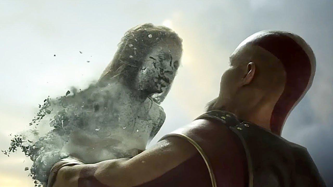 GOD OF WAR PS5 Final Boss Fight & Ending 4K ULTRA HD