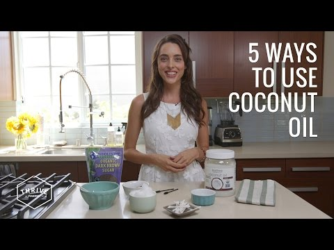 5 New Ways to Use Coconut Oil