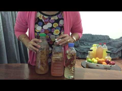 How To Make Your Own Cleaning Vinegar Enzyme from Apple Peel Scrap