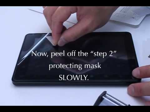 How to install a screen protector (complete version)