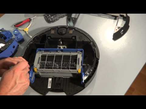 How to Remove and Replace Modules on the iRobot Roomba 700 Series
