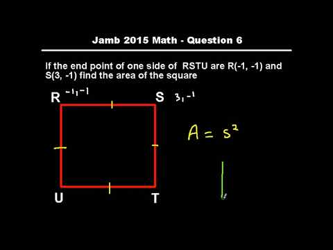 Q6 - JAMB Mathematics 2015 Past Questions and Answers