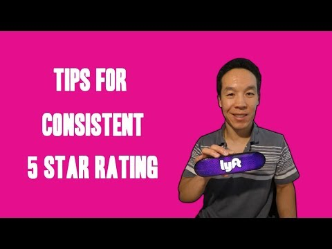 Uber or Lyft Best Tips For Consistent 5 Star Rating