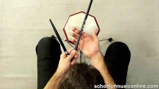 Drum Stick Technique (The Basics)