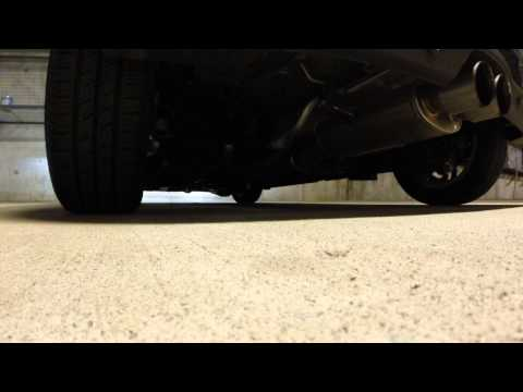 Mini Cooper S Coupe Sound - Burple and Popping at 18K miles