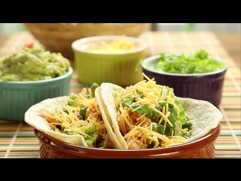 How to Make Shredded Chicken Taco Filling | Chicken Recipes | Allrecipes.com