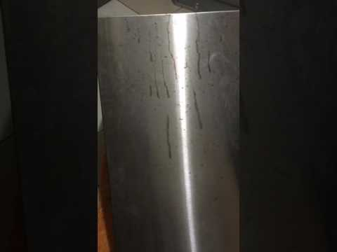 remove muriatic acid from stainless steel part 1