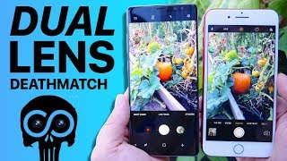 Samsung Galaxy Note 8 Camera Test vs iPhone 7 Plus!