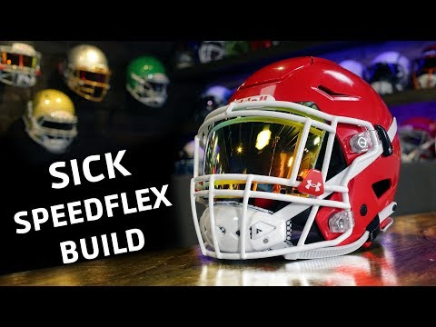 SpeedFlex Gets Tricked Out | Your Helmet, Your Way | 2018 | SportStar | SHOC Visor | UA Clips