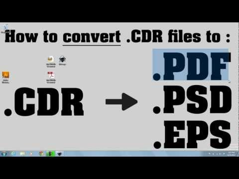.CDR converted to .PDF - Free
