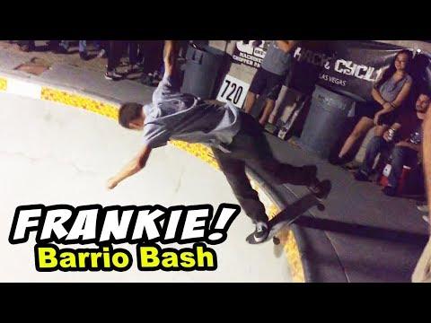 Frankie SHREDS Barrio Bash BACKYARD POOL!
