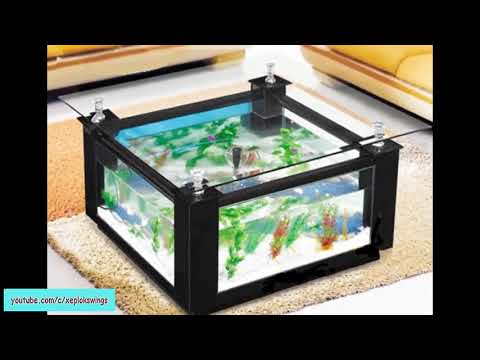 coffee table design aquarium | fish tank decorating ideas 2017