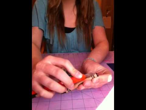 How to peel a crayon very fast!!