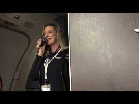 Marty Cobb - Hilarious Southwest Flight Attendant