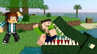 Minecraft Survival Ep.170 - Morto Por Um Crocodilo !!