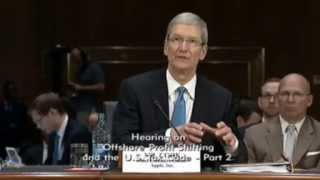 Apple CEO Tim Cook Testifies About Avoiding Taxes- Part 1 of Hearing