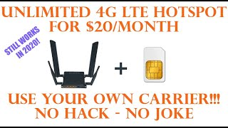 Netbuddy True Unlimited Data LTE 4G mobile Hotspot Review On At&t