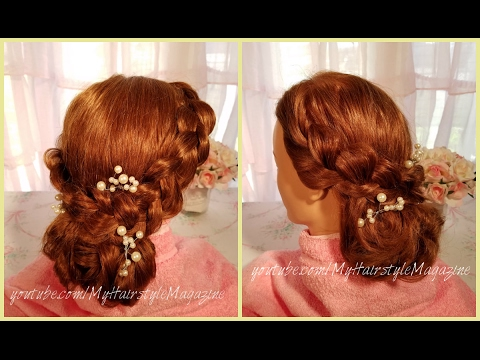 Wedding Hairstyle Tutorial for Long Hair