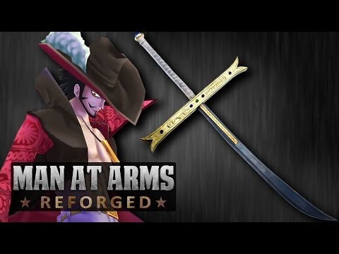 Yoru, Mihawk's Sword (One Piece) - MAN AT ARMS: REFORGED