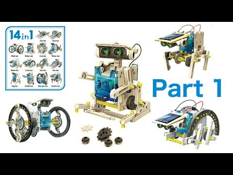 14 in 1 Solar Robot Kit - (Part1)