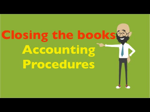 Closing the books | Accounting Procedures | Accounting | MBA in Pills | The Four Week MBA
