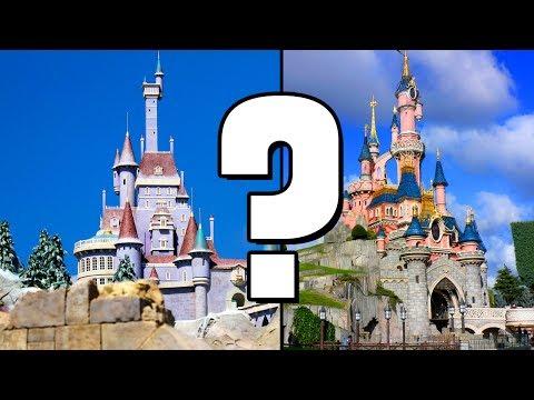 Why isn't Beast's Castle in Disneyland Paris?