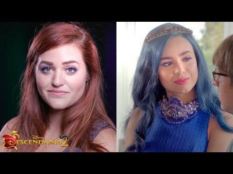 Evie Inspired Makeup Tutorial | DIY | Descendants 2
