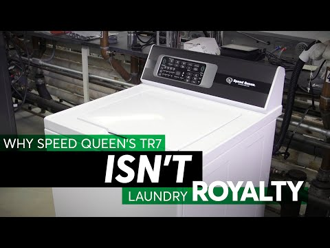 Why Speed Queen's TR7 Isn't Laundry Royalty   Consumer Reports
