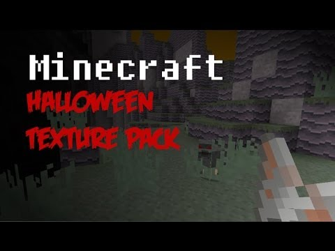 Minecraft Halloween Texture Pack and Giant Jack-O'-Lantern