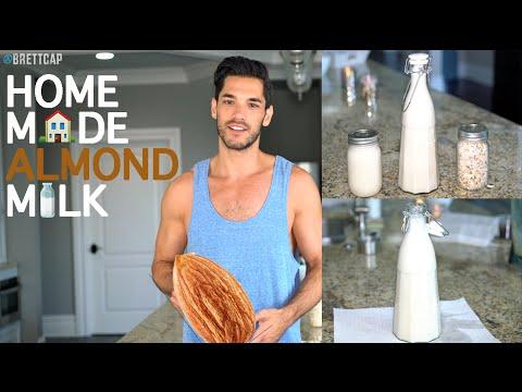 Healthy Recipes | Homemade Almond Milk