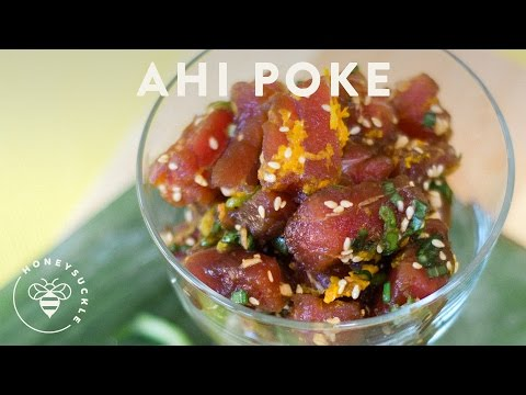 Hawaiian Ahi Poke Recipe - Honeysuckle