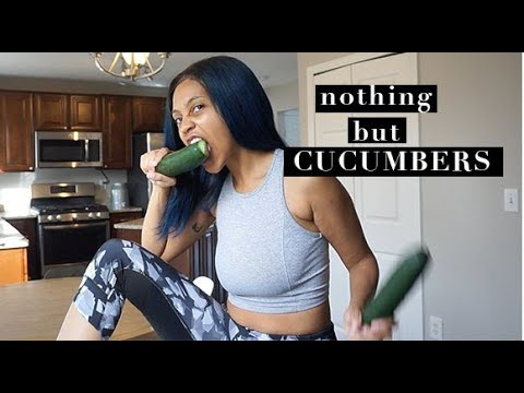 WHAT EATING ONLY CUCUMBERS DID TO ME | detox series