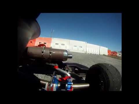 First lap and cold tires
