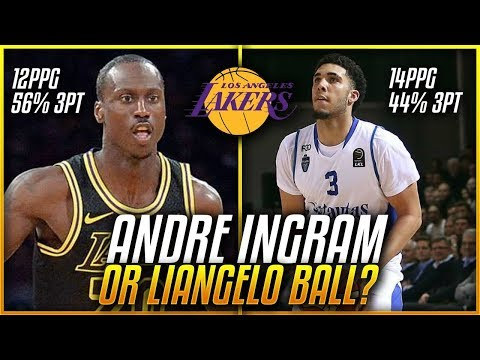 Will LiAngelo Ball STEAL Andre Ingrams Spot On The LAKERS Next Season?