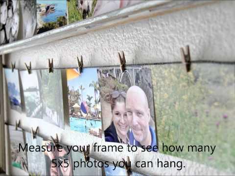 DIY Instagram Photo Frame