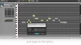 [Piapro Studio] Introducing The Next Generation Vocal Editor
