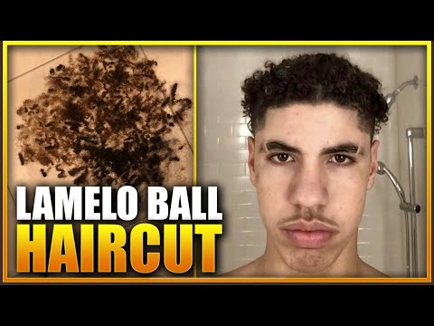 BREAKING NEWS: LAMELO BALL FINALLY CHANGED HIS HAIR!