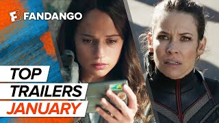 Top New Trailers - January 2018
