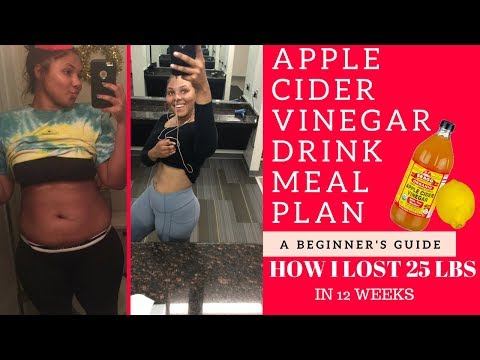 ACV DRINK | MEAL PLAN | LOSE 8lbs IN 7 DAYS