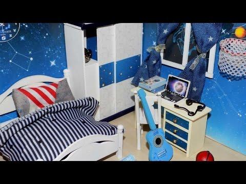DIY Miniature Dollhouse Bedroom