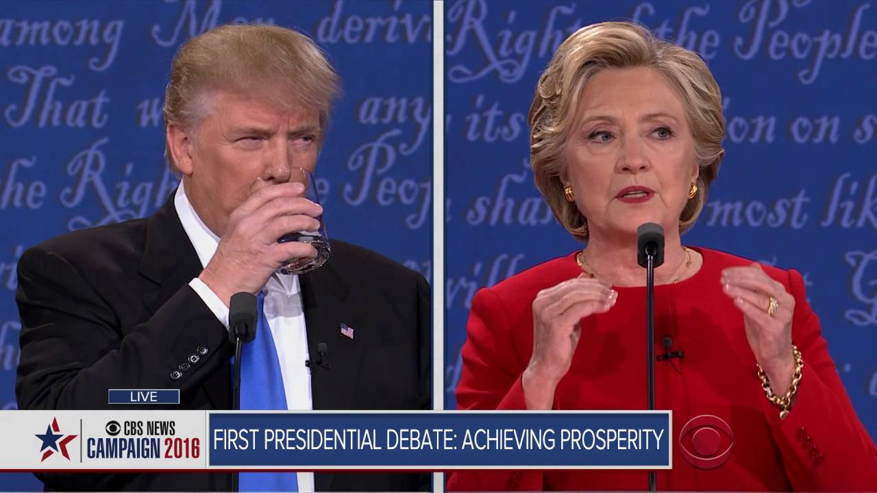 Full video: Trump-Clinton first presidential debate