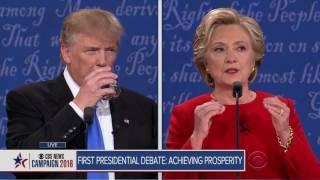 Full video: Trump-Clinton first presidential debate