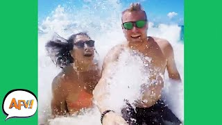 Where There's a WAVE, There's a FAIL! 🌊😂| Funny Videos | AFV 2020